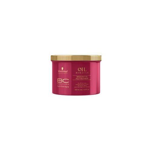 Schwarzkopf BC Oil Miracle Brazilnut, maska do włosów farbowanych, 500ml