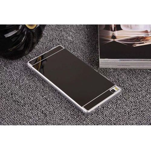 Slim mirror  case czarny | etui dla huawei p8 - czarny