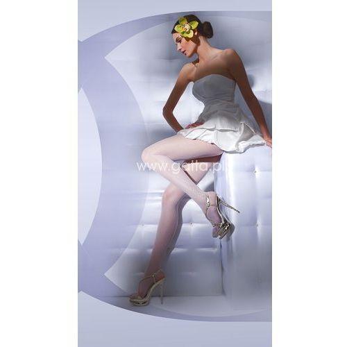Rajstopy Wedding by Gatta Bella Prima nr 02 20 den 2-S, kremowy/off white, Gatta