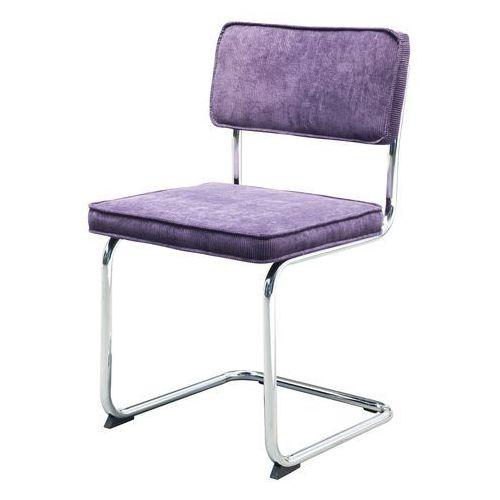 Interstil Krzesło sevilla rib, fioletowe, tkanina, chrom 22126-10