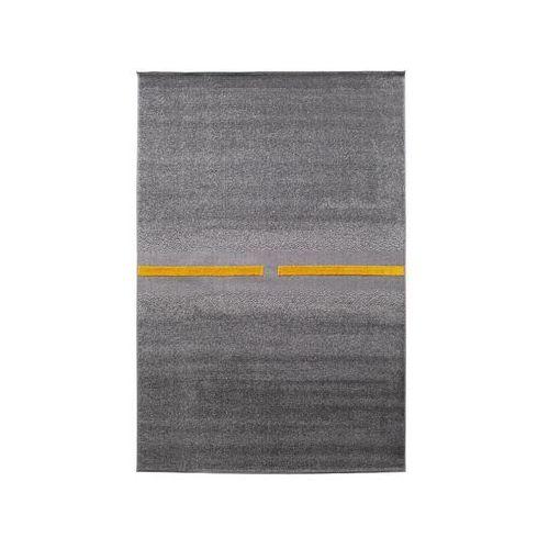 Dywan tikko stalowo-żółty 160 x 230 cm marki Agnella