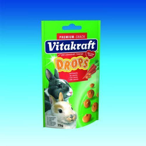 Vitakraft Drops - naturalne dropsy dla królików różne smaki - sprawdź w wybranym sklepie