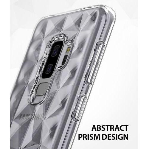 Etui air prism designerskie żelowe 3d samsung galaxy s9 plus g965 różowe marki Ringke