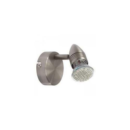 Kinkiet Kanlux Moli EL-1O 07085 lampa ścienna spot 1x50W GU10 satynowy chrom