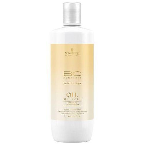 bc bonacure oil miracle marula oil | lekki olejkowy szampon 1000ml marki Schwarzkopf