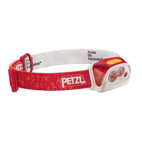 Petzl - petzl czołówka actik core - kolor czerwony (3342540815544)