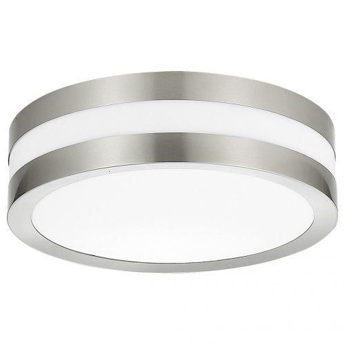 Rabalux Plafon zewnętrzny lampa sufitowa stuttgart 2x11w e27 ip44 inox 8220