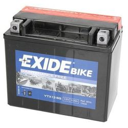 Akumulator EXIDE BIKE AGM YTX12-BS