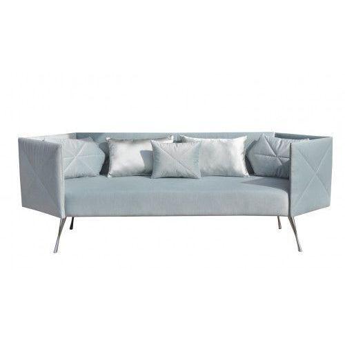Sofa CRYSTAL nierozkładana, kolor szary
