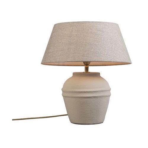 Lampa stolowa Arta XS Concrete z kloszem 35cm lniany, naturalny