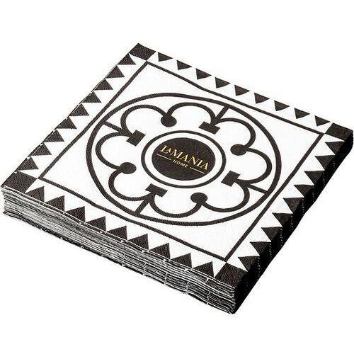 La mania home Serwetki papierowe milano czarne 20 szt. (5301212800019)