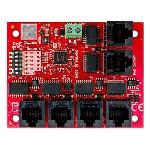 BCS-xPoE6-II Switch PoE 6 portowy BCS