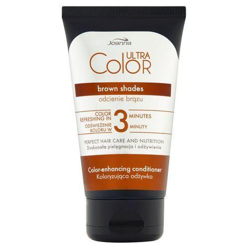 Joanna ultra color odżywka do włosów koloryzująca - odcienie brązu 100g