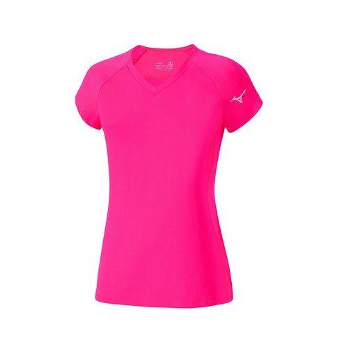 Mizuno  w flex tee - diva pink (5054698220450)
