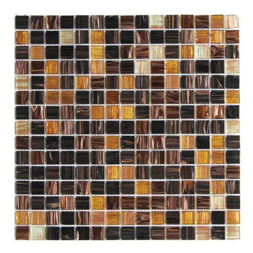 Colours Mozaika szklana 32,7 x 32,7 cm złota (5052931188499)