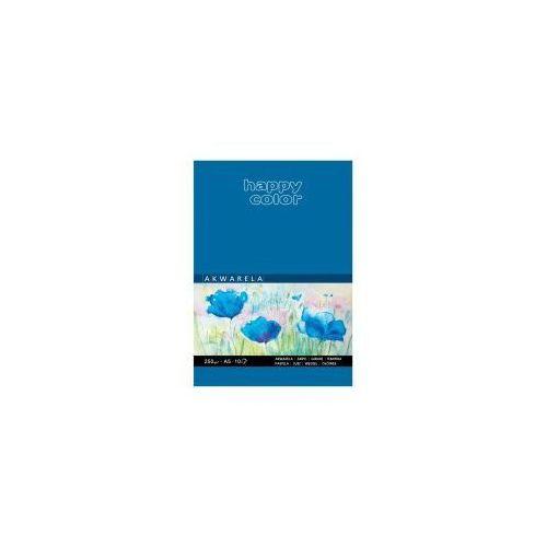 Blok akwarelowy A5 HAPPY COLOR 250g 10 kartek, 5905130007842