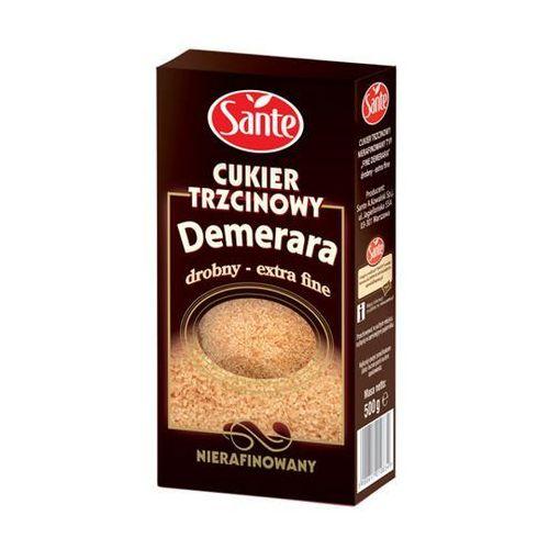 Cukier trzcinowy drobny nierafinowany demerara 500 g marki Sante