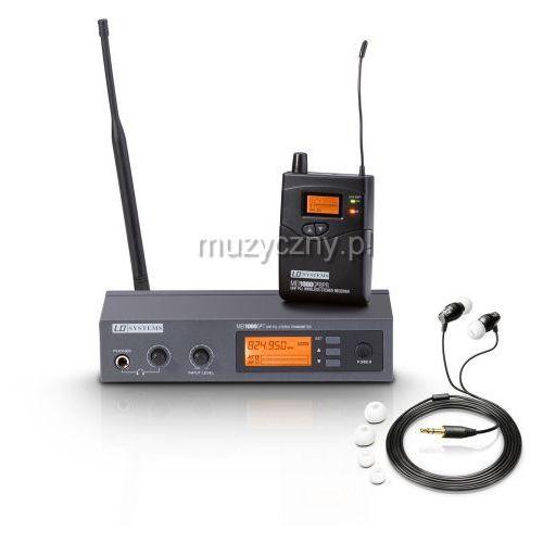 Ld systems  mei1000g2 b5 bezprzewodowy, douszny system monitorowy 584-607 mhz