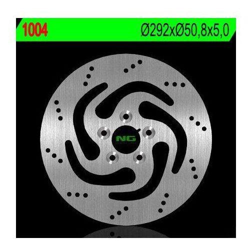 Ng 1004 tarcza hamulcowa harley-davidson 883/1200/1340/1450 (292x50,5x5) (5x10,5mm)