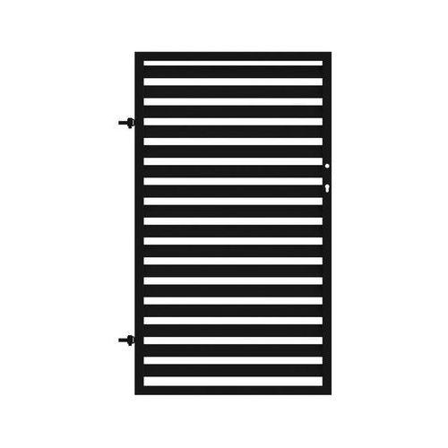 Furtka ogrodzeniowa NEROSYSTEM 90 cm lewa METALKAS (5907666202869)