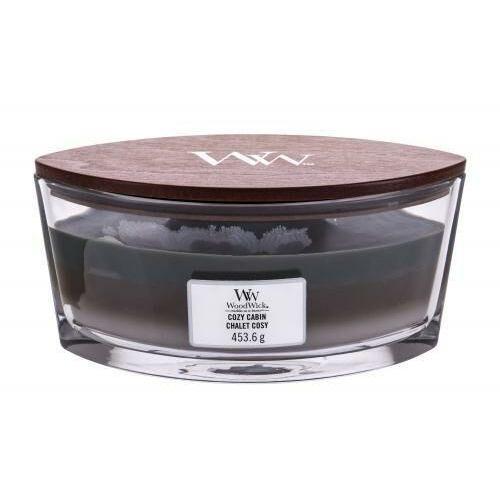 cozy cabin świeczka zapachowa 453,6 g unisex marki Woodwick