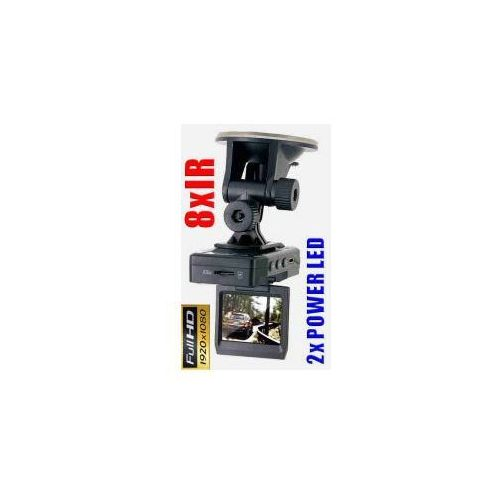 "Kamera Samochodowa FULL HD!! z LCD 2"" + 2LED + 8IR., 59077734156001"
