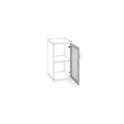 B2b partner Drzwi al rama z mlecznym szkłem prawe, 396 x 21 x 714 mm