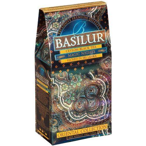 BASILUR 70424 100g Magic Nights Stożek Herbata czarna liściasta | DARMOWA DOSTAWA OD 150 ZŁ!, kup u jednego z partnerów