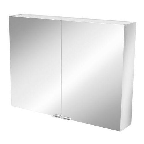 Goodhome Szafka z lustrem imandra 80 x 60 x 15 cm