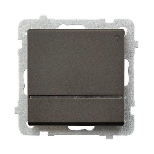 Łącznik krzyżowy z podświetleniem czekoladowy metalik ŁP-4RS/m/40 SONATA, kup u jednego z partnerów