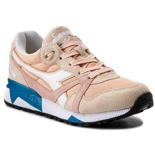 Diadora Sneakersy - n9000 iii 501.171853 01 c7376 bique/bleached sand/vivi