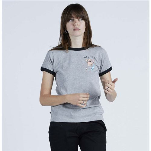 koszulka NIKITA - Harmonic Ss Tee Athletic Heather - Black (AGH) rozmiar: M