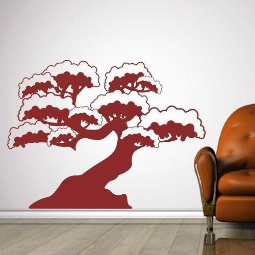 Naklejka drzewko bonsai 1289 marki Wally - piękno dekoracji