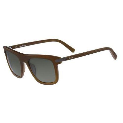 Okulary słoneczne sf 785s 220 marki Salvatore ferragamo