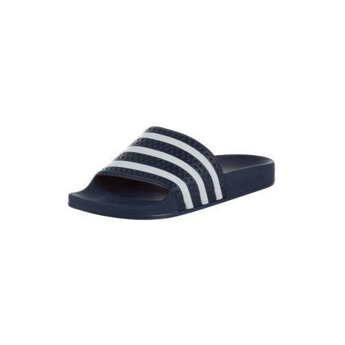 Adidas originals klapki 'adilette' niebieski / biały