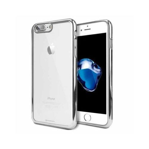 Futerał Back Case Jelly Mercury Ring 2 Iphone 7 Plus Srebrny, backjmring2_i7ps