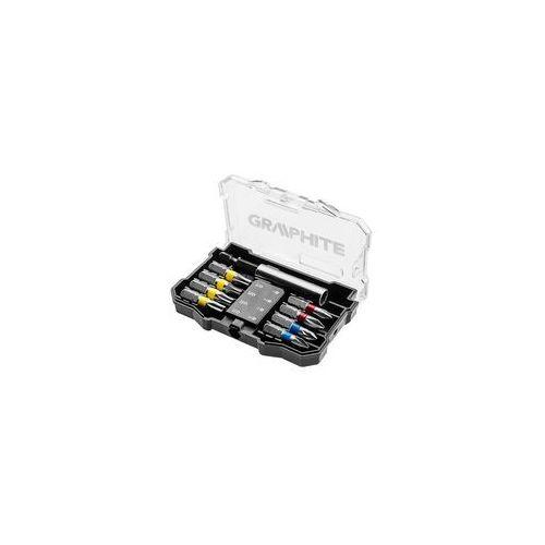 Zestaw bitów GRAPHITE 56H614 (10 sztuk) (5902062024480)