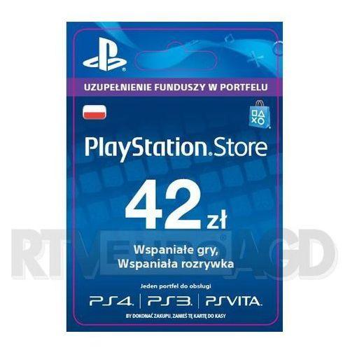 OKAZJA - Sony PlayStation Network 42 zł [kod aktywacyjny] (0000006200208)