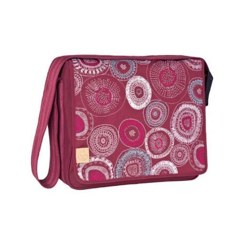 LÄssig torba na akcesoria do przewijania basic messenger bag fossil rumba red marki Lässig