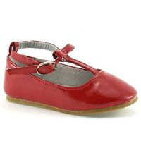 Baleriny dla dzieci Wojtyłko 1036 - Czerwony, kolor czerwony