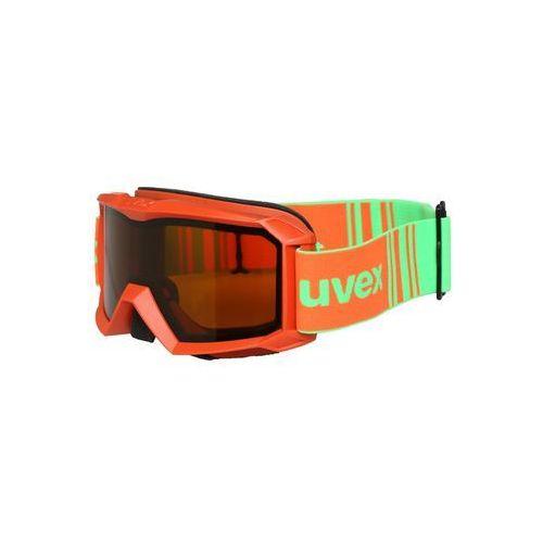 Uvex FLIZZ LG Gogle narciarskie orange mat