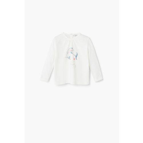 - koszulka dziecięca cindy 62-80 cm marki Mango kids
