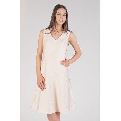61c50981 Suknie i sukienki Rodzaj: rozkloszowana, Długość rękawa: bez rękawów ...