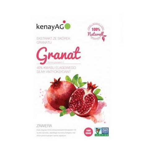 Granat liofilizowany sproszkowany owoc (40% kwasu elagowego) 100g, marki Kenay ag