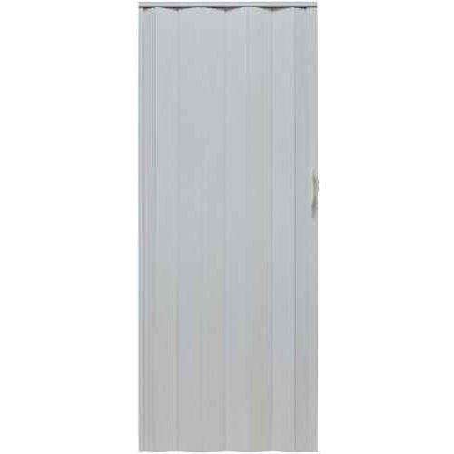 Drzwi Harmonijkowe 001P 49 Biały Dąb Mat 80cm