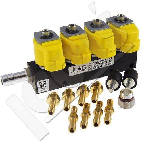 Rail Listwa wtryskowa  ig1 1ohm żółta 4 cyl., kategoria: wtryskiwacze paliwa