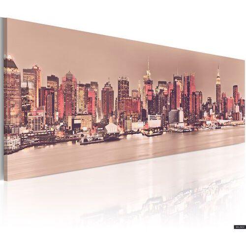 Selsey obraz - nowy jork - miasto światła 120x40 cm
