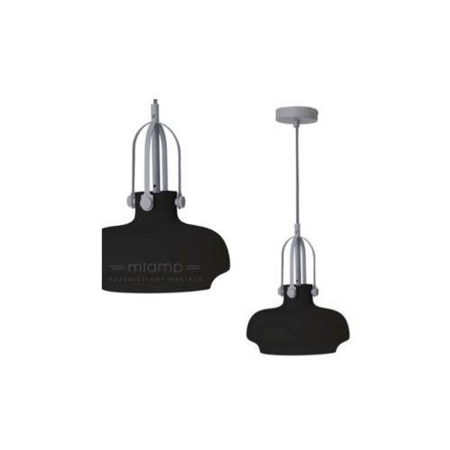 Light prestige Lampa wisząca fiano lp-3763/1p bk szklana oprawa industrialna zwis czarny (1000000195545)