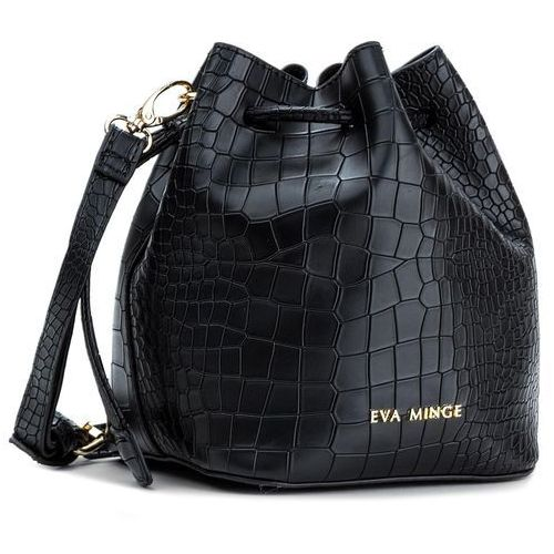 Torebka EVA MINGE - Elodia 2B 17NB1372166EF 901, kolor czarny