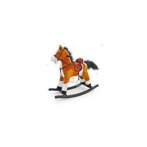 Koń na biegunach mustang jasny brąz #b1 marki Milly-mally